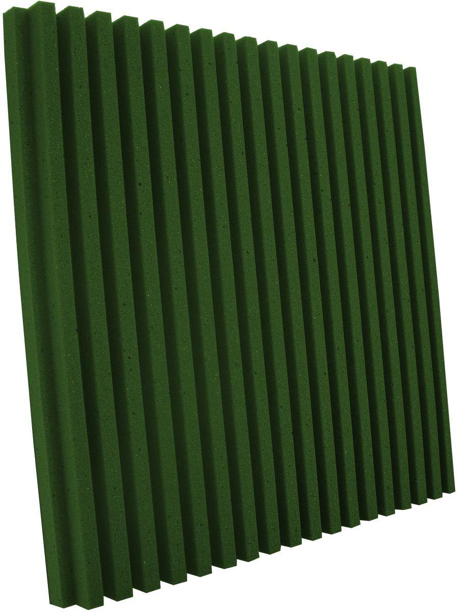 Espuma acústica Linha REV - R - Verde - Kit 8 peças (2m²)  - Loja SPL Acústica