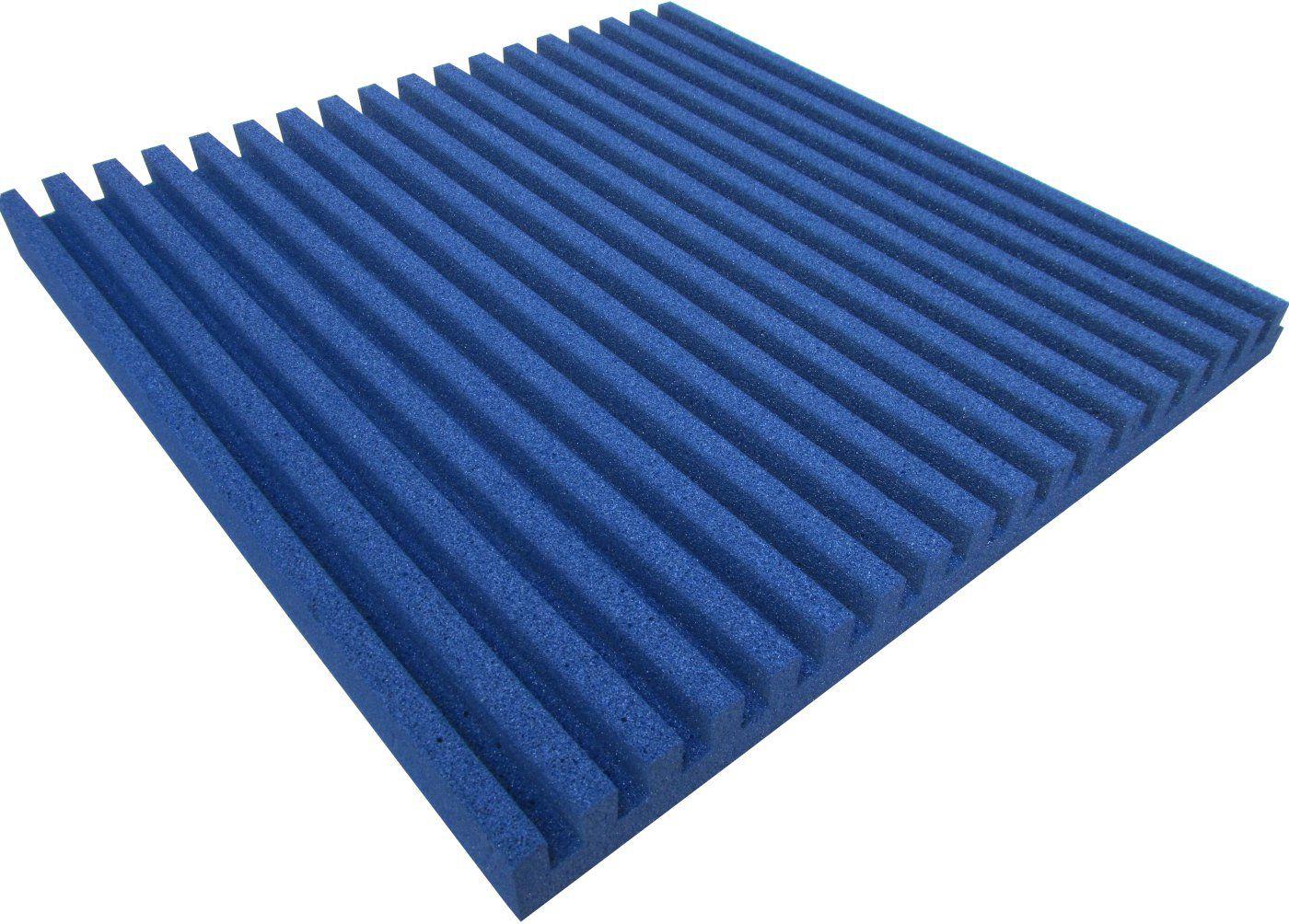 Espuma acústica Linha REV - R - Azul - Kit 8 peças (2m²)  - Loja SPL Acústica