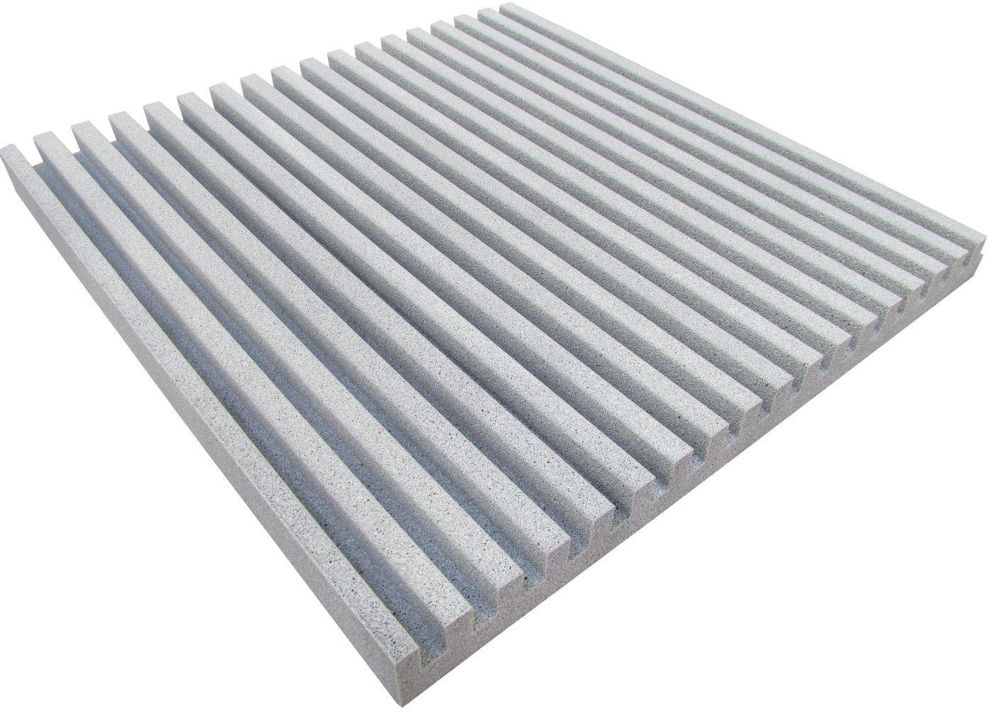 Espuma acústica REV - R - Branco Gelo - Kit 4 peças (1m²)  - Loja SPL Acústica