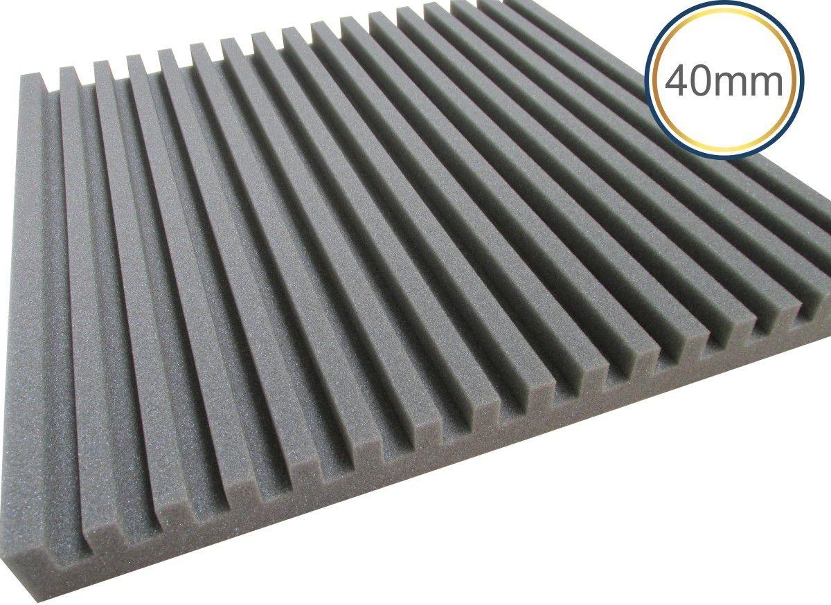 Espuma Acústica - REV R - Kit 4 peças - (1m²)  - Loja SPL Acústica
