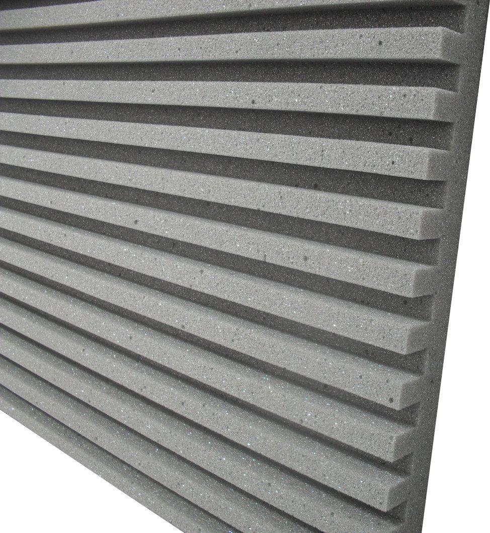 Espuma acústica Linha REV - R - Kit 4 peças - (1m²)  - Loja SPL Acústica