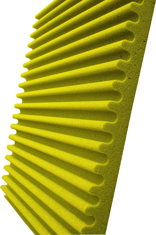 Espuma acústica Linha REV - S - Amarelo- Kit 4 peças (1m²)  - Loja SPL Acústica