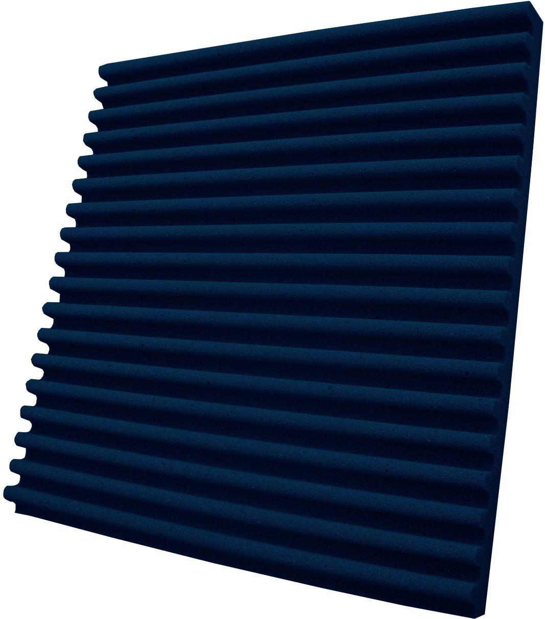 Espuma acústica Linha REV - S - Azul - Kit 8 peças (2m²)  - Loja SPL Acústica