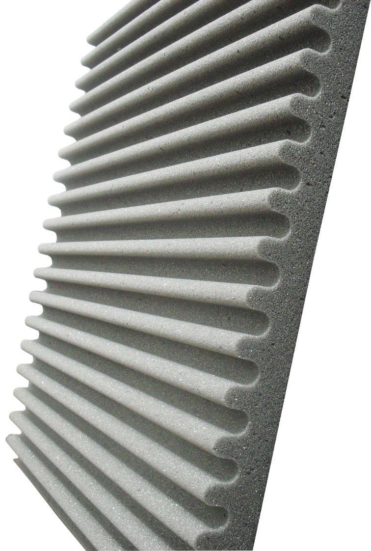 Espuma acústica Linha REV - S - Kit 4 peças - (1m²)  - Loja SPL Acústica