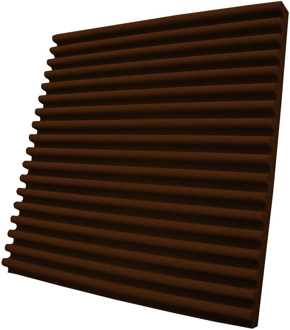 Espuma acústica Linha REV - S - Marrom - Kit 8 peças (2m²)  - Loja  SPL Acústica