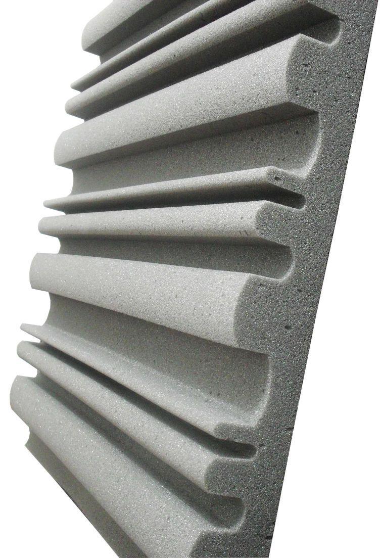 Espuma acústica Linha REV - SII- Kit 8 peças (2m²)  - Loja  SPL Acústica