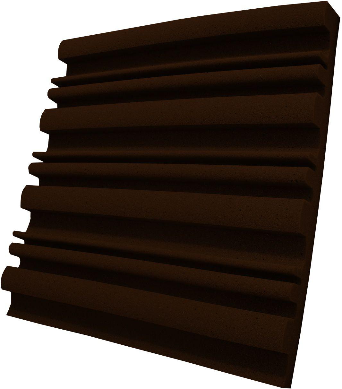 Espuma acústica Linha REV - SII - Marrom - Kit 8 peças (2m²)  - Loja  SPL Acústica