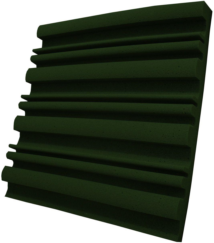 Espuma acústica Linha REV - SII - Verde - Kit 8 peças (2m²)  - Loja  SPL Acústica