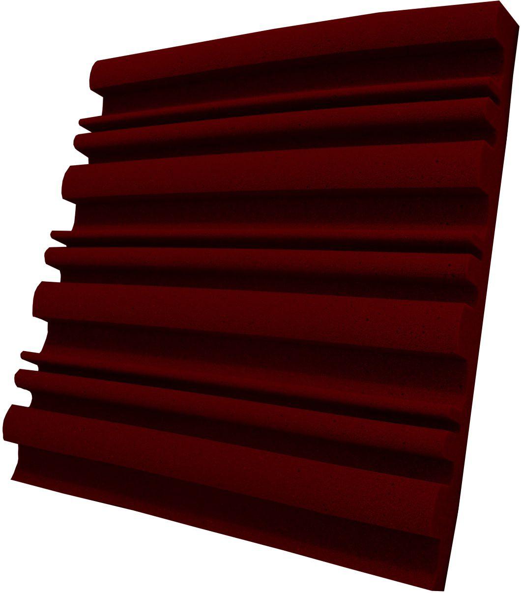 Espuma acústica Linha REV - SII - Vermelho - Kit 8 peças (2m²)  - Loja  SPL Acústica