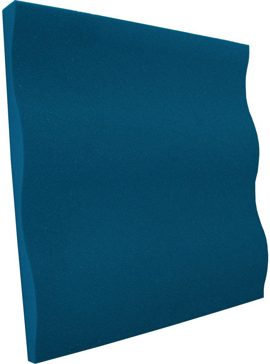 Espuma acústica Linha REV - SS - Azul - Kit 8 peças (2m²)  - Loja  SPL Acústica