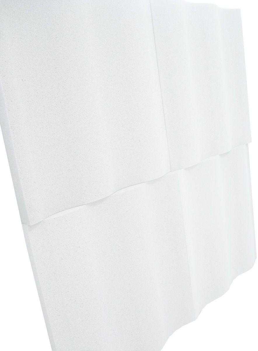 Espuma acústica Linha REV - SS - Branco Gelo - Kit 8 peças (2m²)  - Loja SPL Acústica