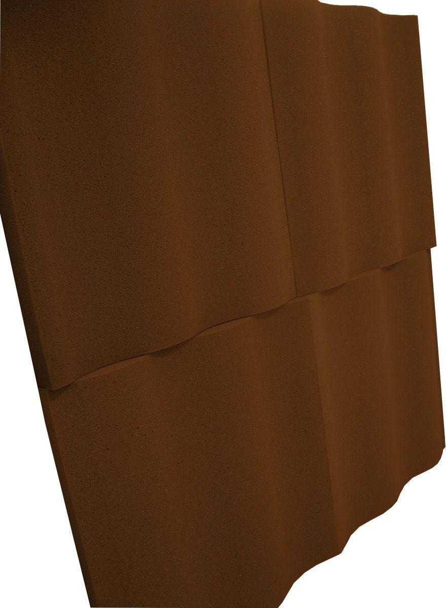 Espuma acústica Linha REV - SS - Marrom - Kit 4 peças (1m²)  - Loja SPL Acústica