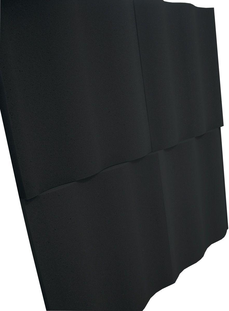 Espuma acústica Linha REV - SS - Preto - Kit 8 peças (2m²)  - Loja  SPL Acústica