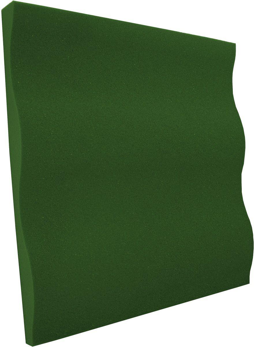 Espuma acústica Linha REV - SS - Verde - Kit 8 peças (2m²)  - Loja SPL Acústica