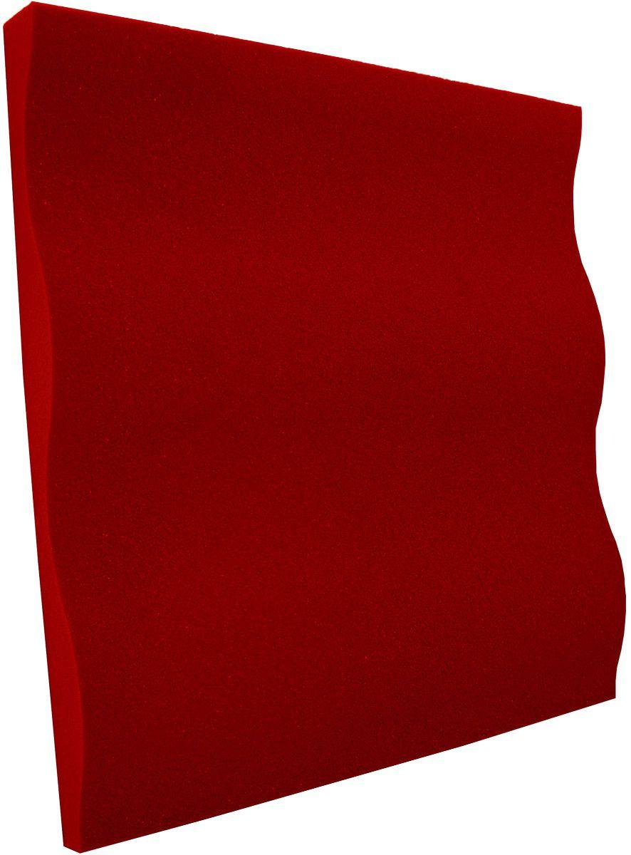 Espuma acústica Linha REV - SS - Vermelho - Kit 8 peças (2m²)  - Loja  SPL Acústica