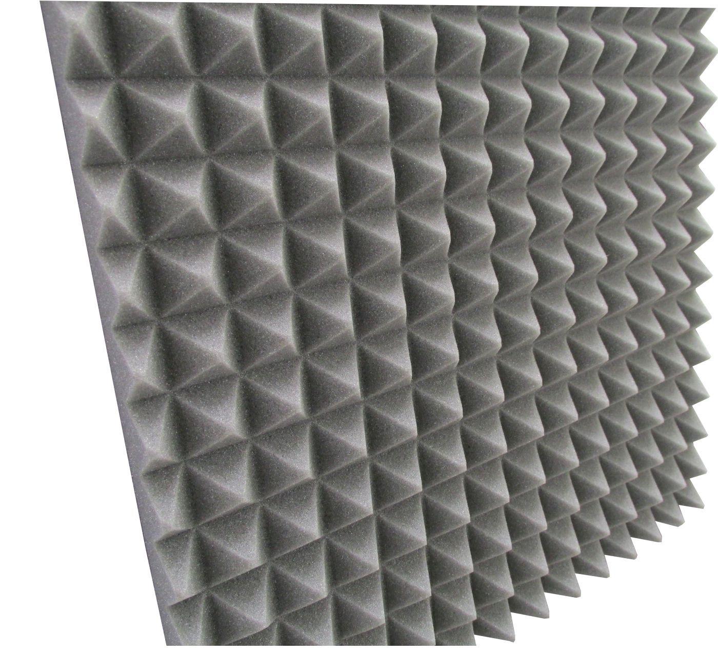 Espuma Acústica - REV - T1 Colorida pigmentada - Kit 4 peças - (1m²)   - Loja SPL Acústica