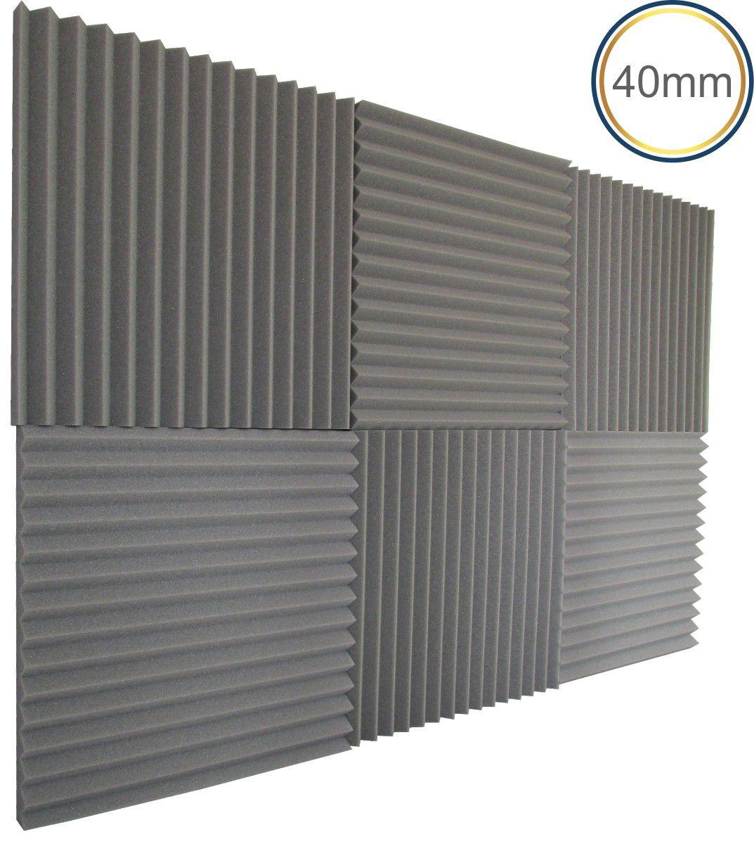 Linha REV W2 - Kit 4 peças - (1m²) 40mm  - Loja SPL Acústica