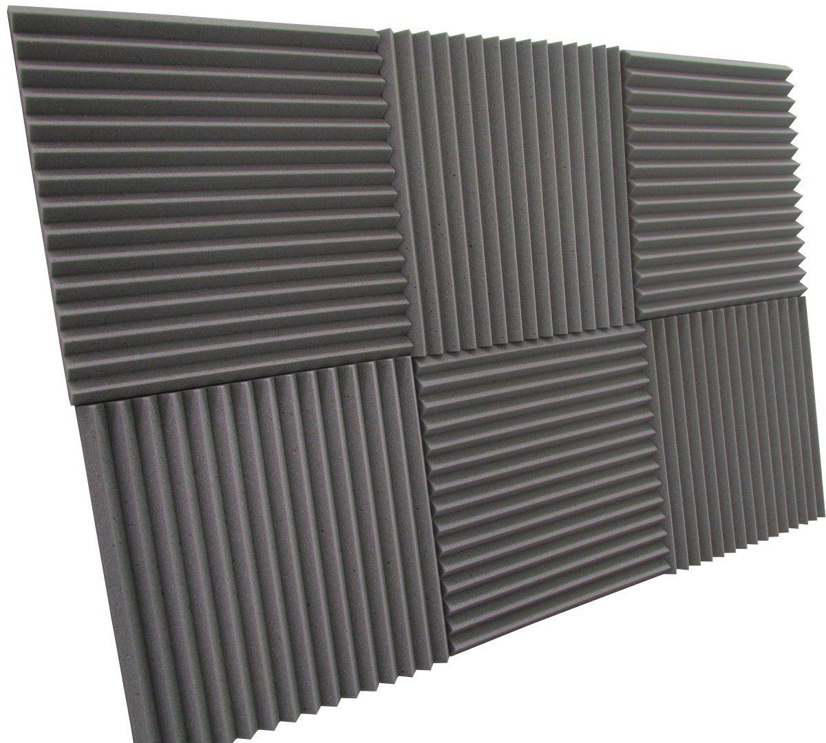 Espuma acústica Linha REV - W2 - Kit 8 peças - (2m²)  - Loja SPL Acústica