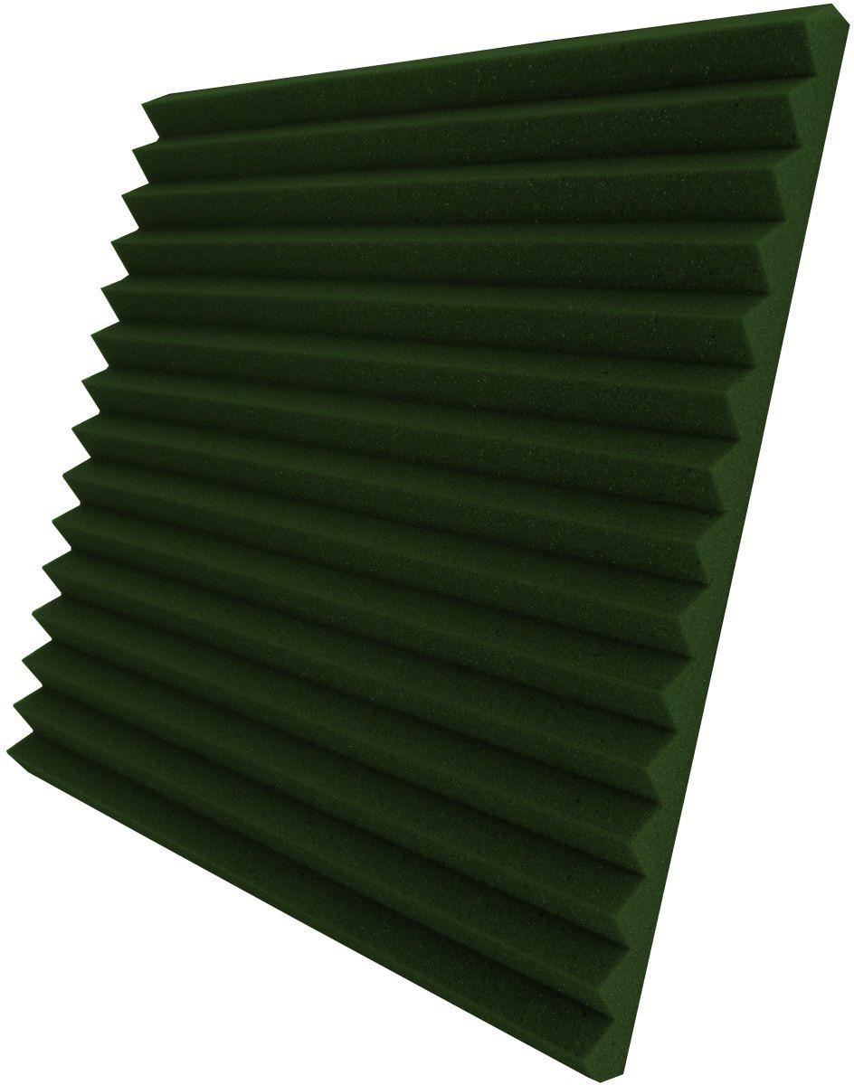 Espuma acústica Linha REV - W2 - Verde - Kit 4 peças (1m²)  - Loja SPL Acústica