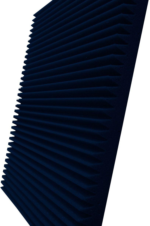 Espuma acústica Linha REV - W - Azul - Kit 4 peças (1m²)  - Loja SPL Acústica