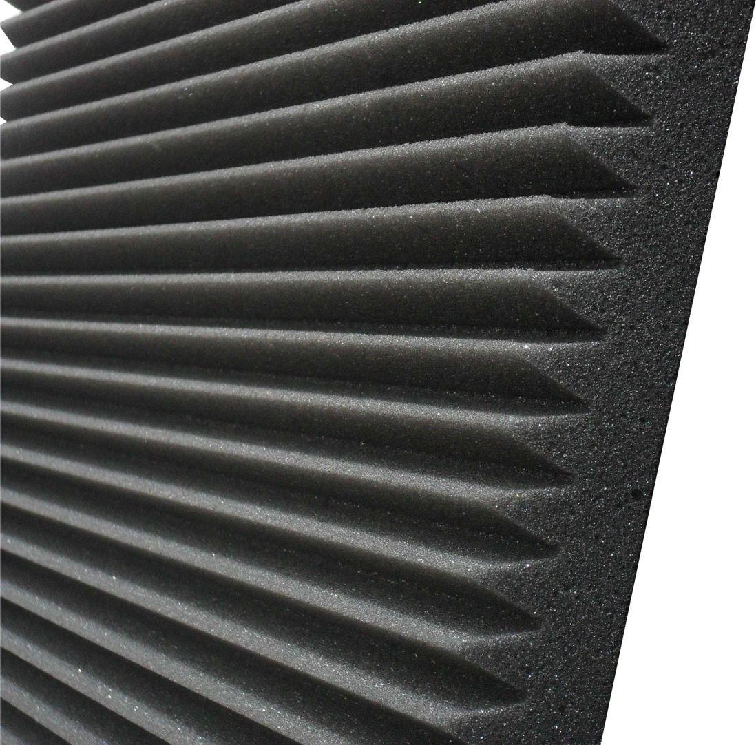 Espuma acústica Linha REV - W - Kit 8 peças (2m²)  - Loja  SPL Acústica