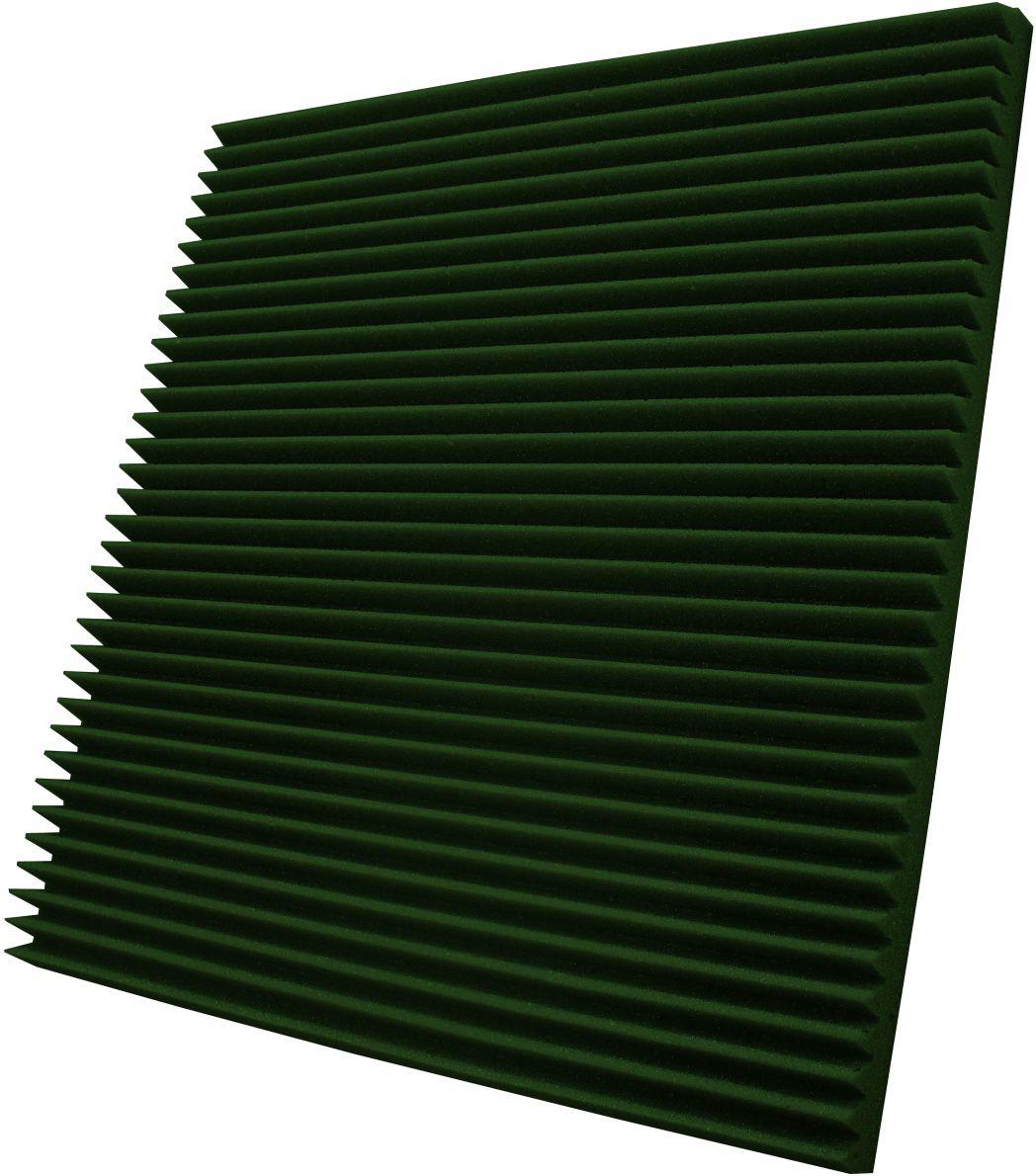 Espuma acústica Linha REV - W - Verde - Kit 4 peças (1m²) - 30mm  - Loja SPL Acústica