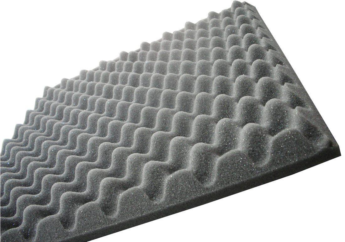 Espuma Acústica perfilada - Kit 4 peças - 40mm - (1m²)  - Loja SPL Acústica