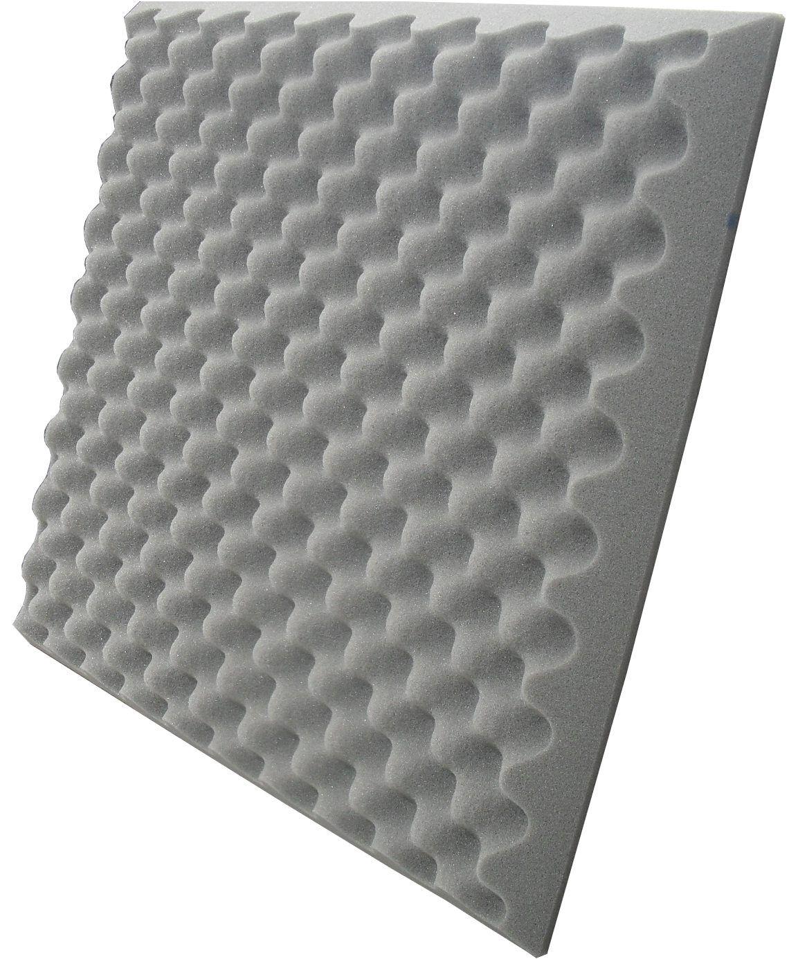 Espuma acústica perfilada - Kit 4 peças - 50mm - (1m²)  - Loja SPL Acústica