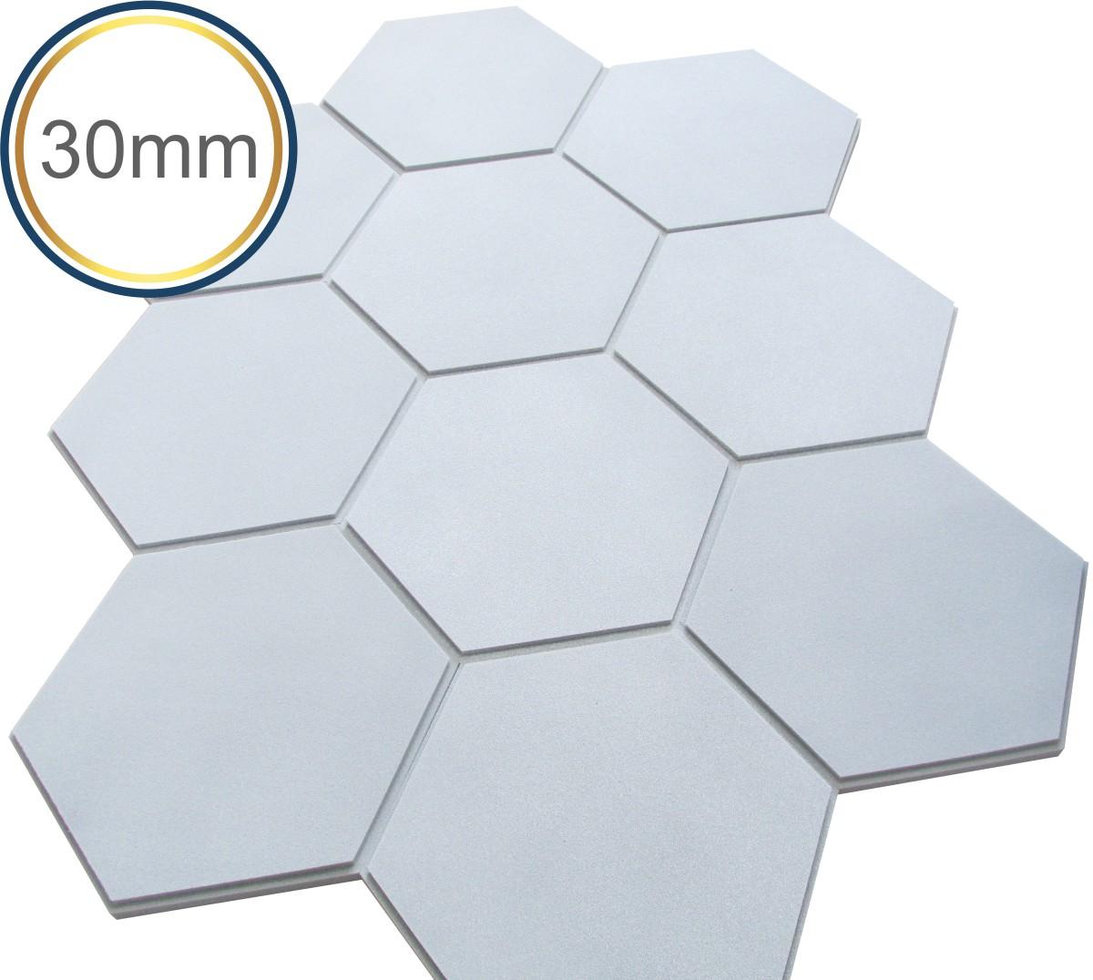 Espuma Acústica - REV - Hexagonal 3D Colors- Kit 5 peças - (1m²)  - Loja SPL Acústica