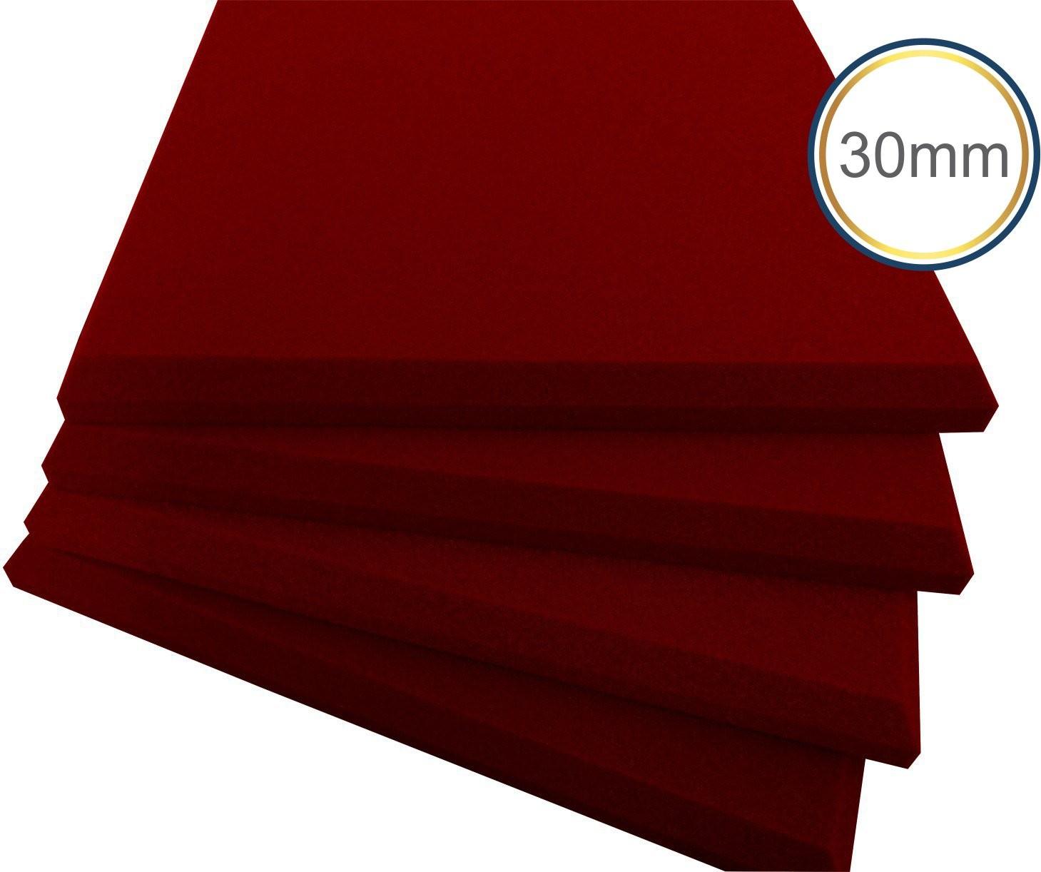 Espuma Acústica - REV - P - Colorida Pigmentada - Kit 4 peças (1m²) 30mm  - Loja SPL Acústica