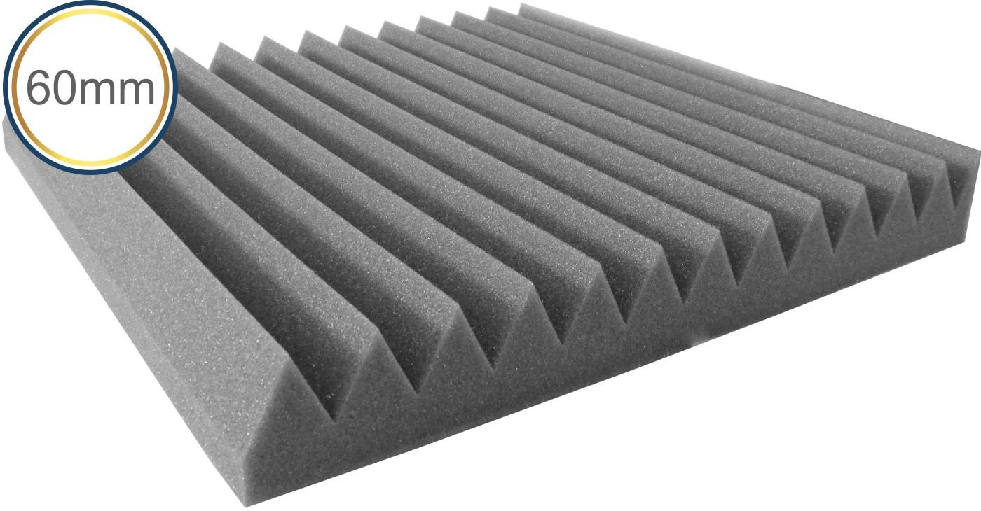 Espuma Acústica - REV - W2 - Kit 4 peças (1m²) 60mm  - Loja SPL Acústica