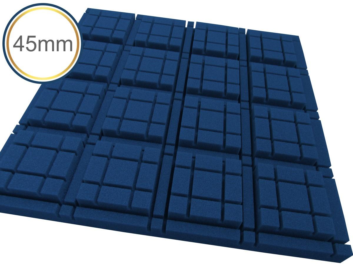 Espuma acústica Revest - Cubo - Kit 4 peças - Colors - (1m²)  - Loja SPL Acústica