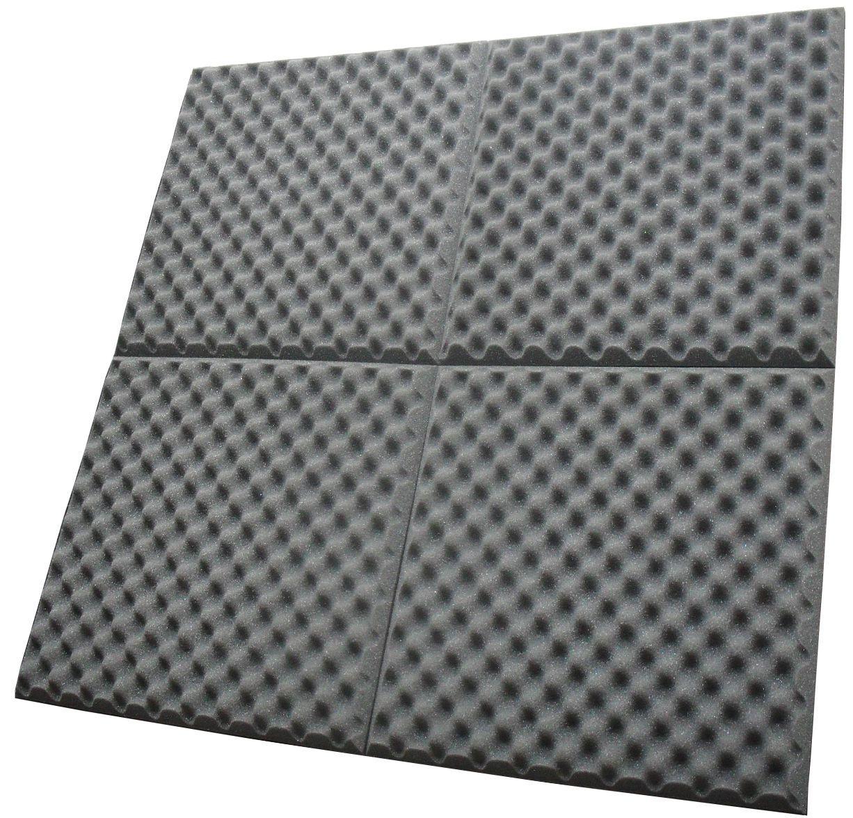 Espuma Acústica perfilada - Kit 8 peças - 40mm - (2m²)  - Loja SPL Acústica
