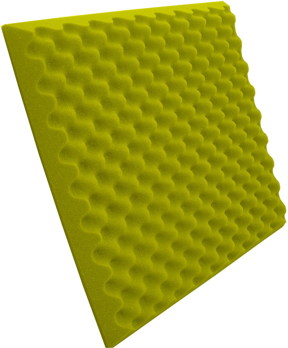 Espuma Perfilada - Kit 8 - Amarelo - 50mm (2m²)  - Loja SPL Acústica