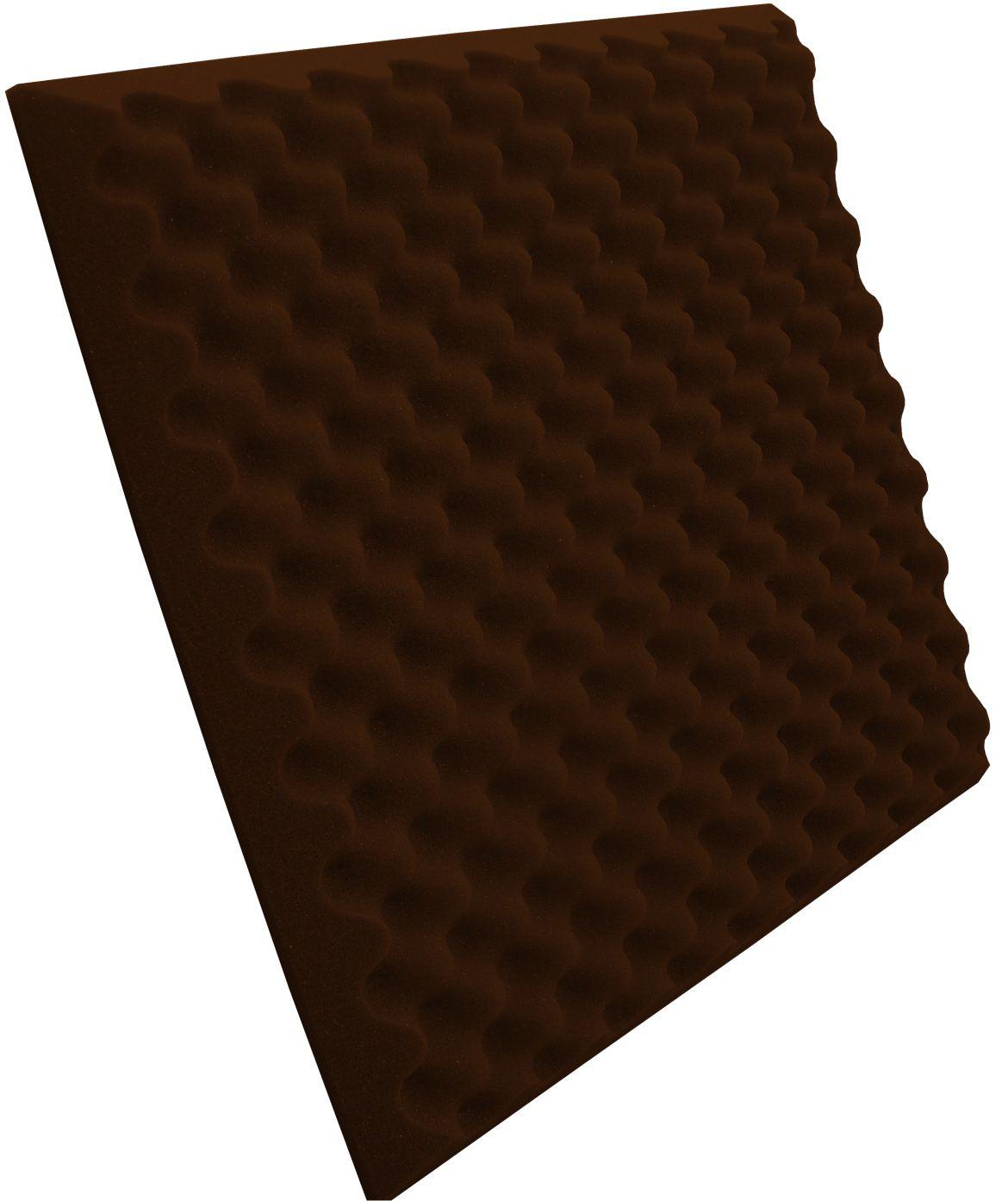 Espuma Perfilada - Kit 8 - Marrom - 50mm (2m²)  - Loja SPL Acústica