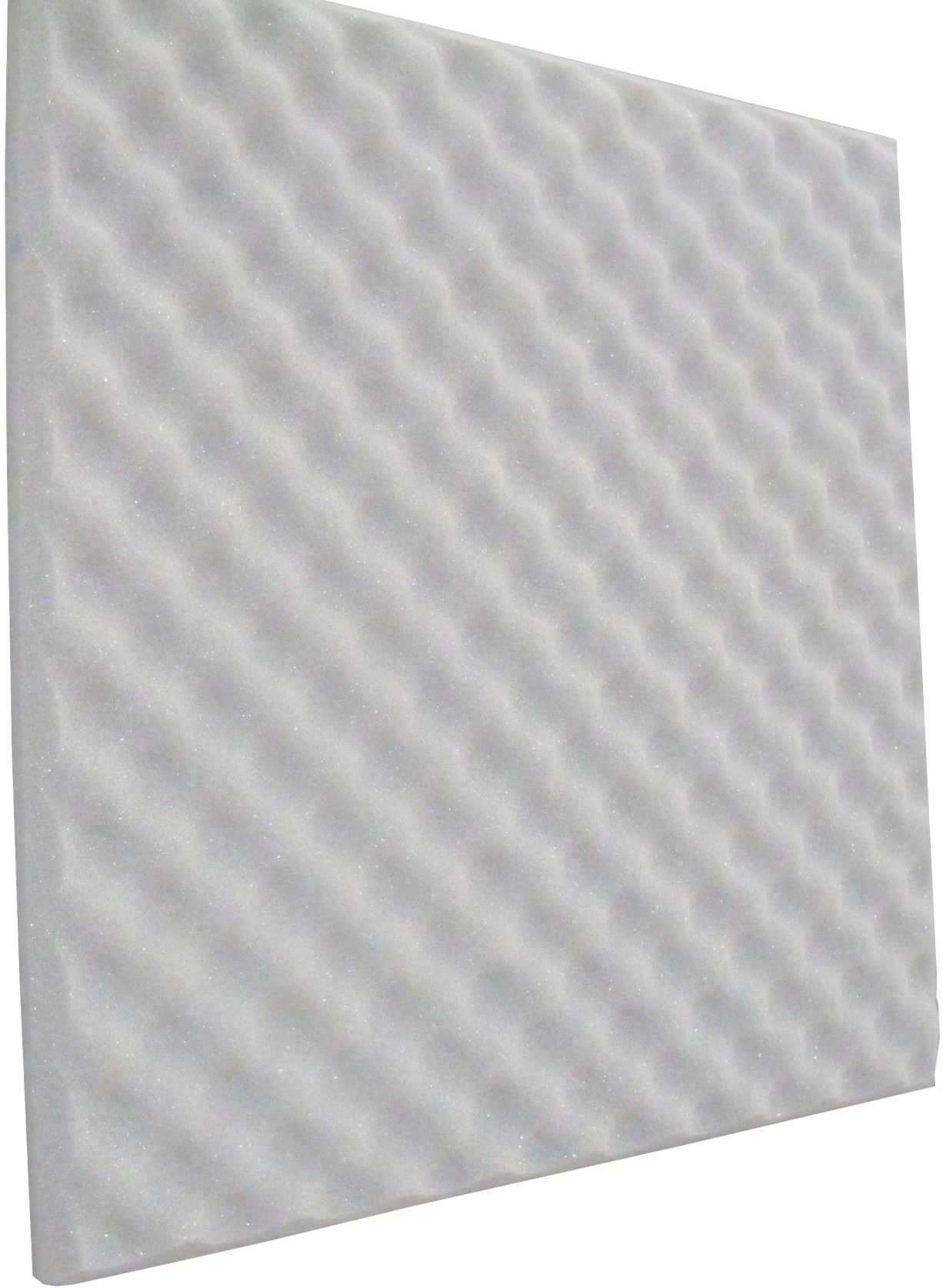 Espuma perfilada - Kit 8 peças - Branco Gelo - 30mm (2m²)  - Loja SPL Acústica