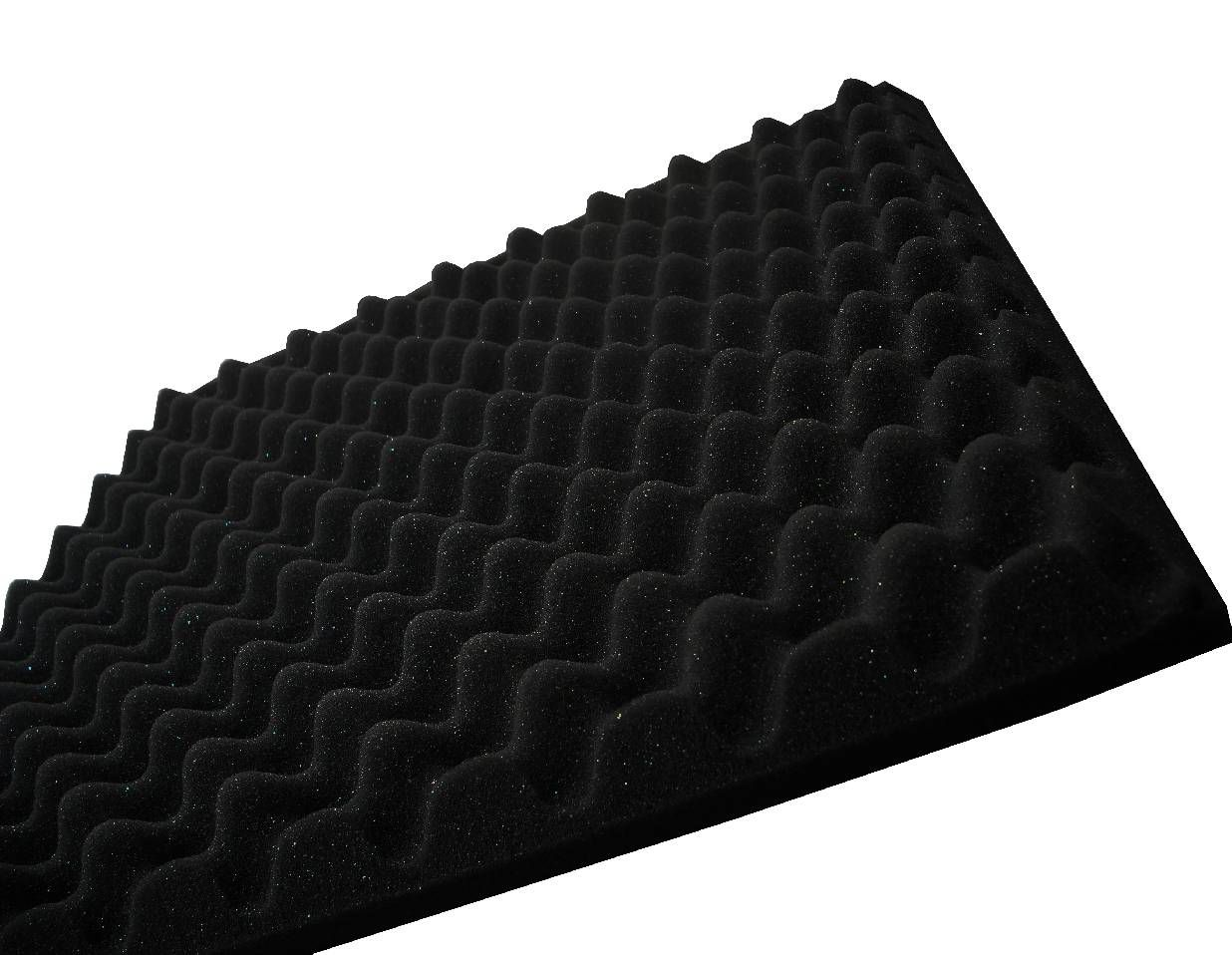 Espuma perfilada - Kit 8 peças - Preto-40mm (2m²)  - Loja SPL Acústica