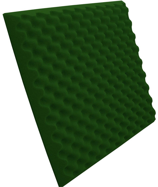 Espuma Perfilada - Kit 8 - Verde - 50mm (2m²)  - Loja SPL Acústica