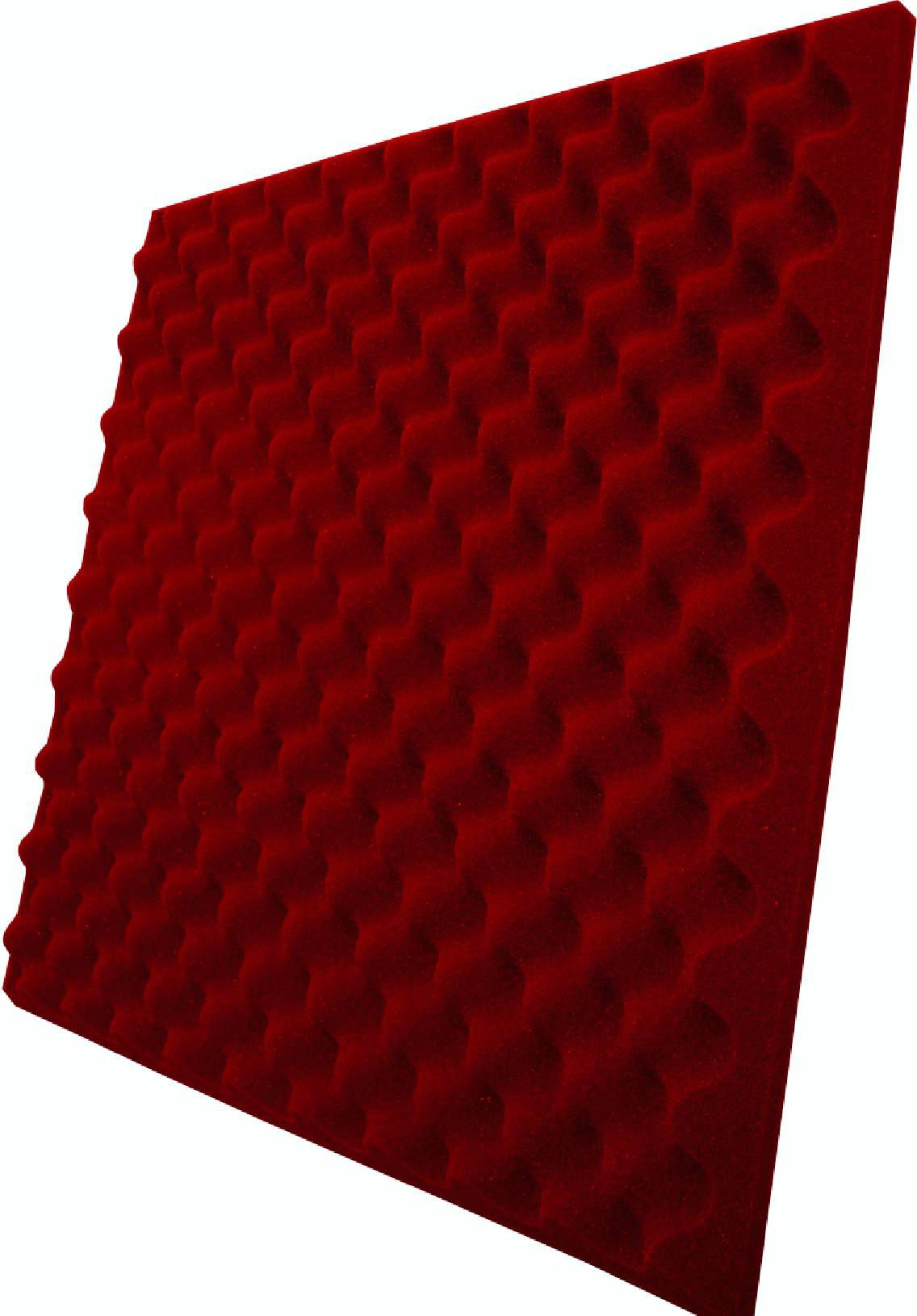 Espuma Perfilada - Kit 8 - Vermelho-40mm (2m²)  - Loja SPL Acústica