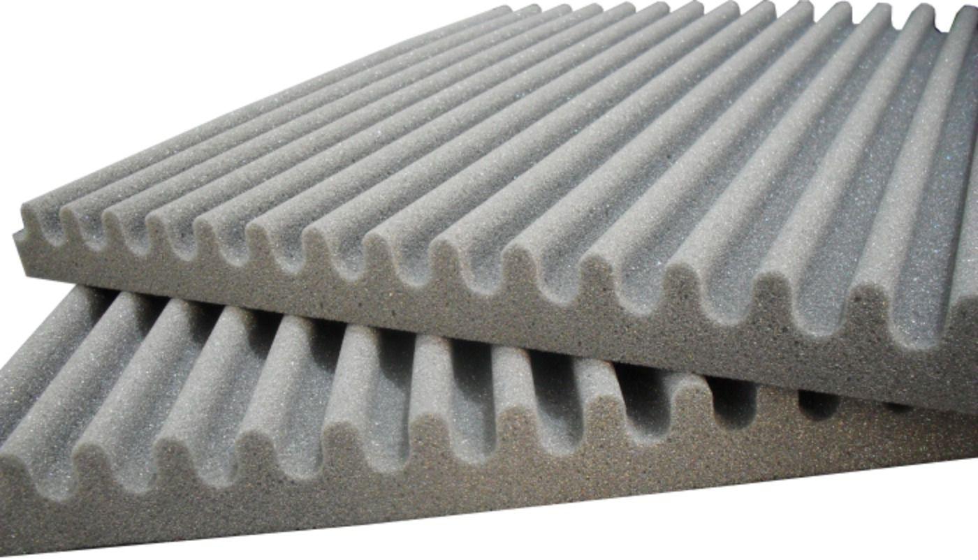 Kit Espuma acústica Linha REV - S - 68m²  - Loja SPL Acústica