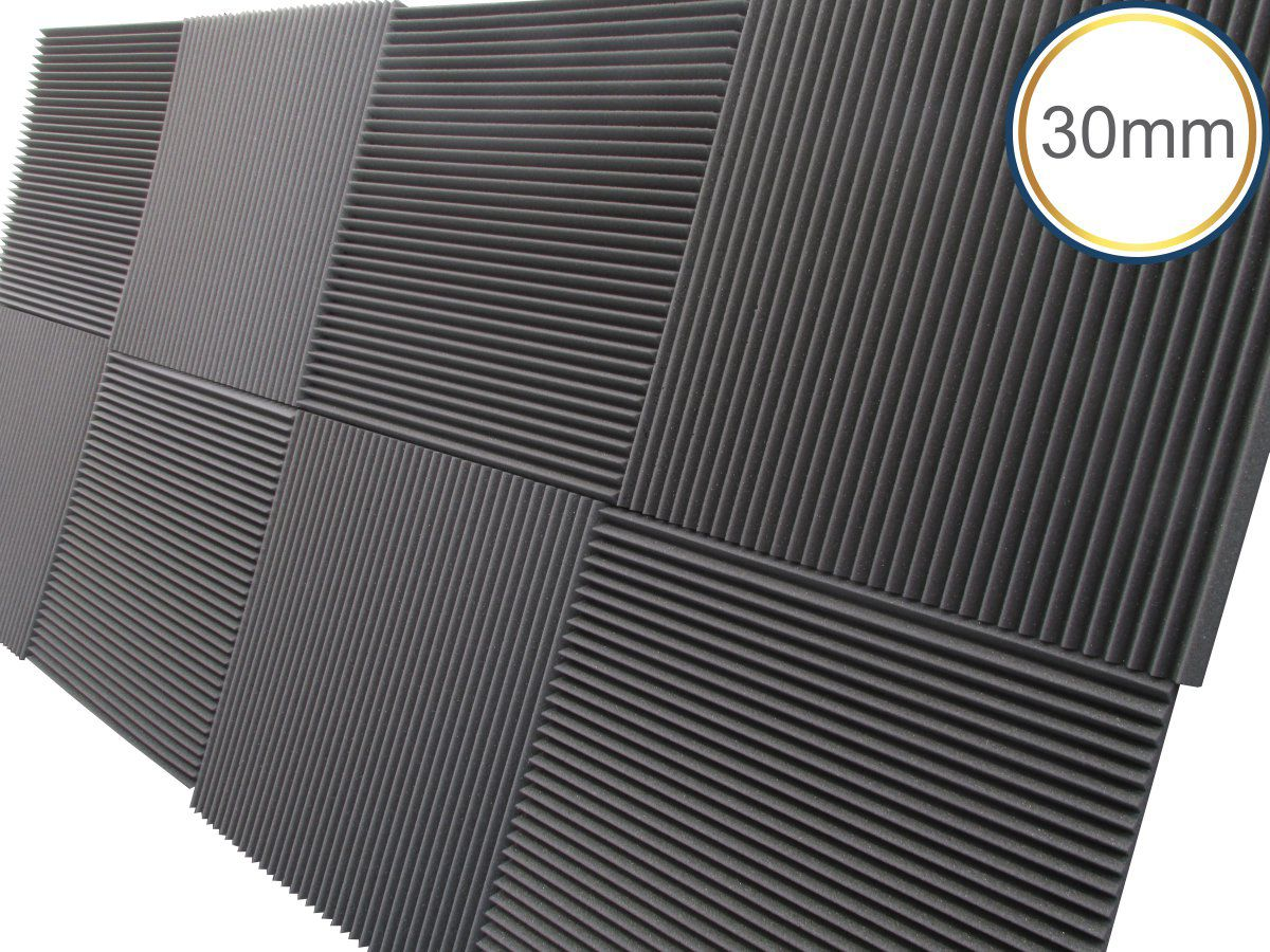 Linha REV W - Kit 4 peças - (1m²) - 30mm  - Loja SPL Acústica