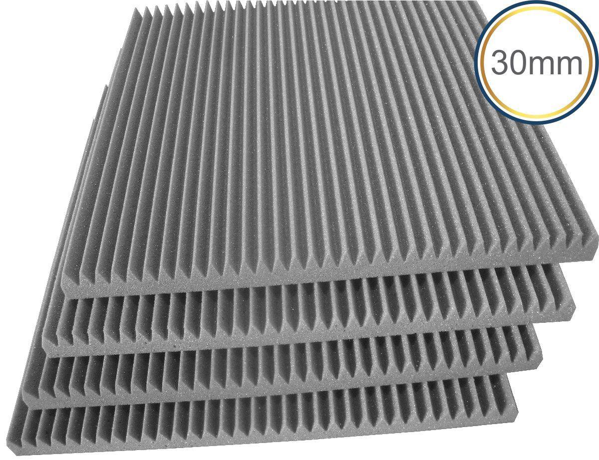 Espuma Acústica - REV W - Kit 4 peças - (1m²) - 30mm  - Loja SPL Acústica