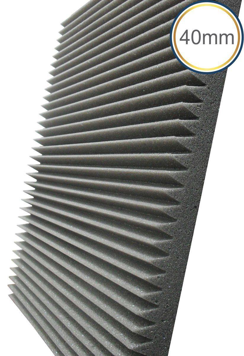 Espuma Acústica - REV W - Kit 4 peças - (1m²) - 40mm  - Loja SPL Acústica