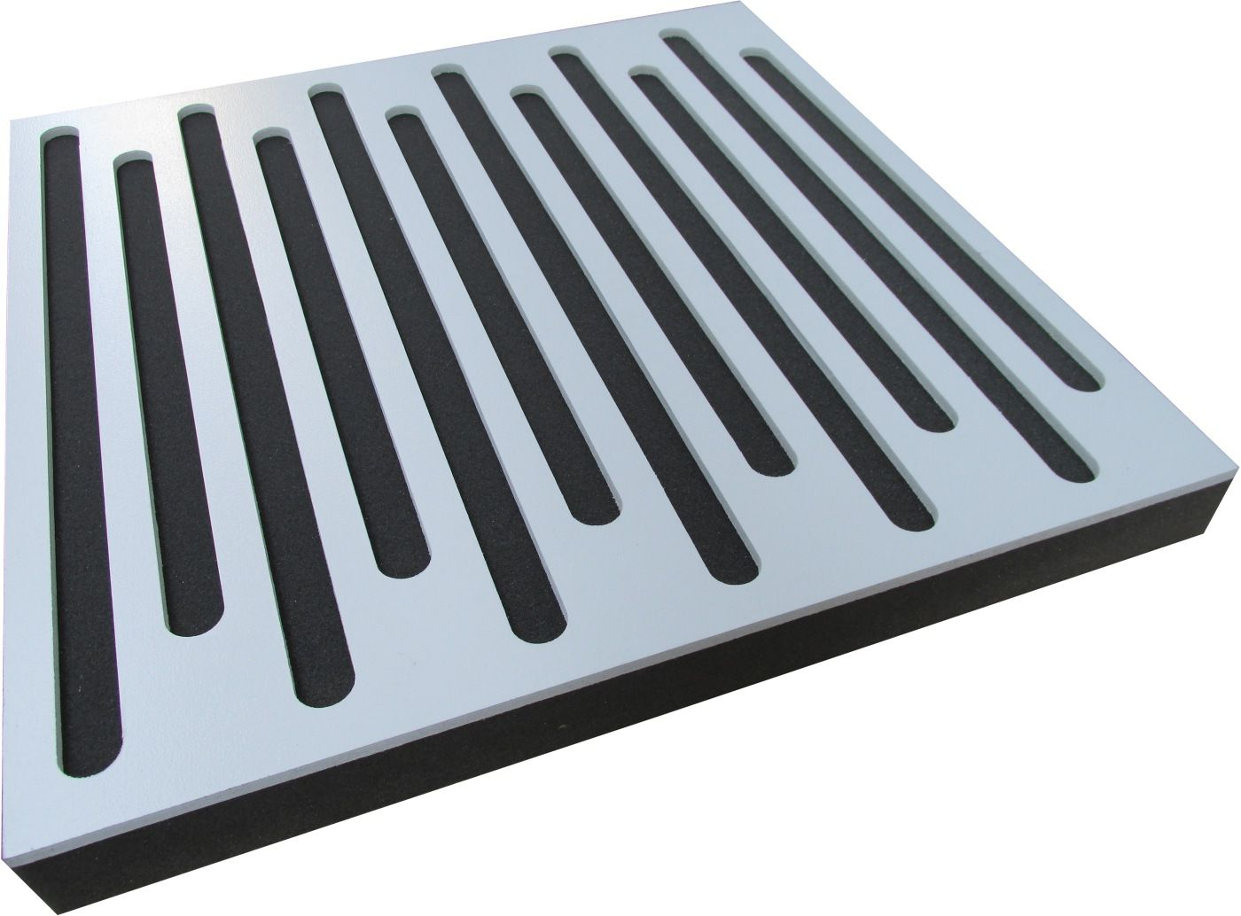 Painel Acústico Rev Decor - Stripes - 4 peças - 1m²  - Loja SPL Acústica