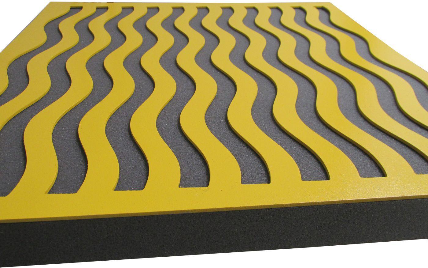 Painel Acústico Linha Rev Decor - Waves (Valor para 2 peças)  - Loja SPL Acústica