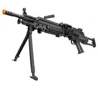 AIRSOFT RIFLE LMG M249 LIGHT ELET 6MM
