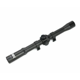 Luneta 4x20 com Suporte Mount Trilho 11mm - FXR