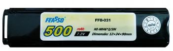 BATERIA ffb 031 (15C) 7.2V 500mAh Airsoft Aeg
