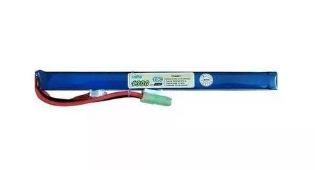 Bateria Airsoft Lipo  (15C) 11.1V 1300mAh*