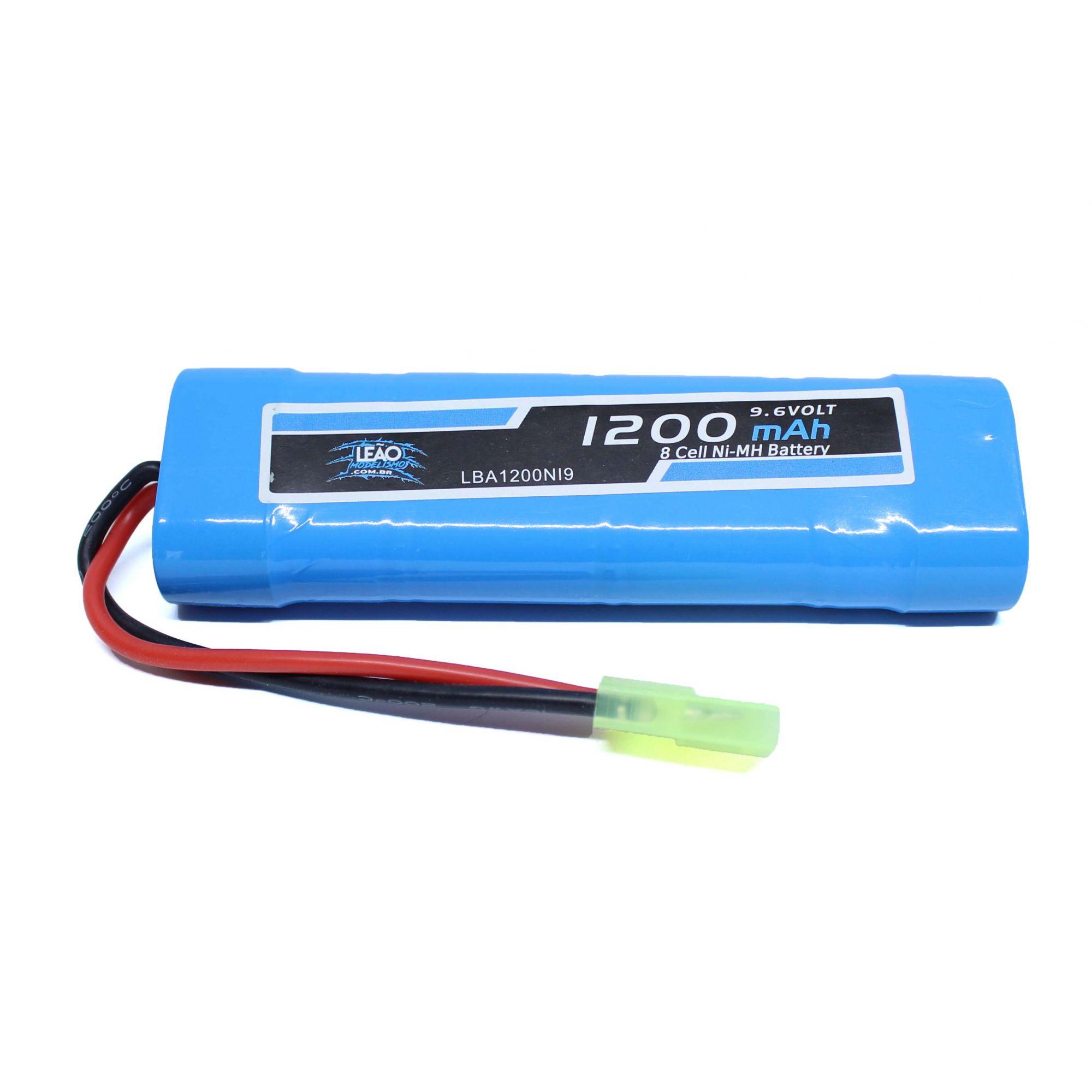 Bateria Airsoft NIMH - Lipo 9.6V 1200 mah